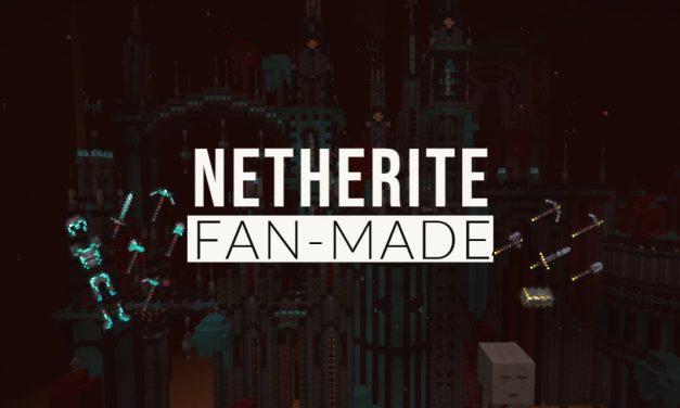 Outils, arme et armure en Netherite : Les meilleurs Fan-made