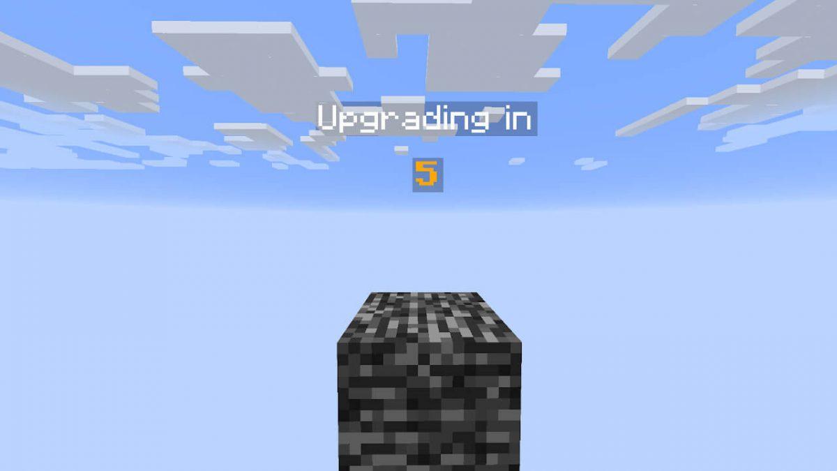 Map One Block : l'animation lors du changement de phase