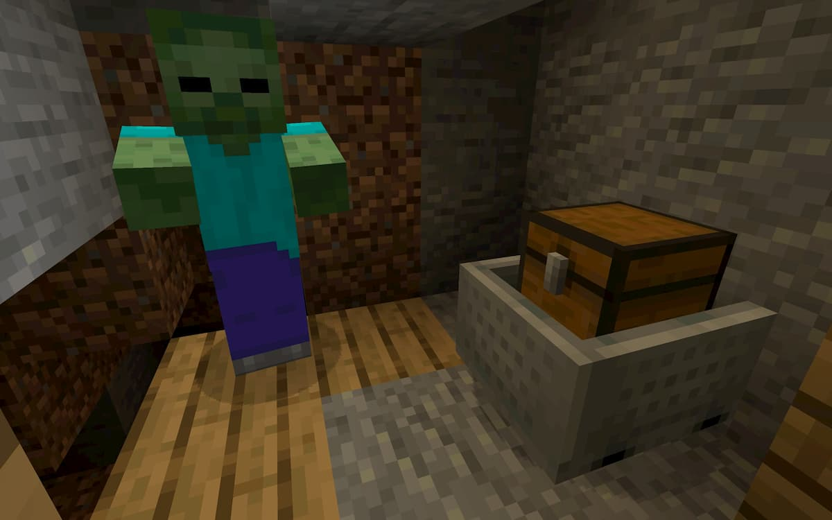 Seed Minecraft 1.15 puits zombie