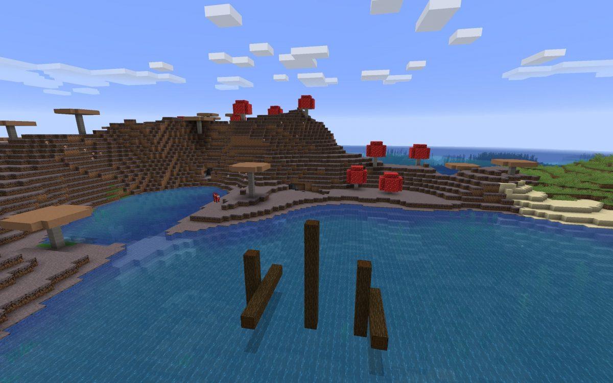 Seed Minecraft 1.15 champignon mushroom