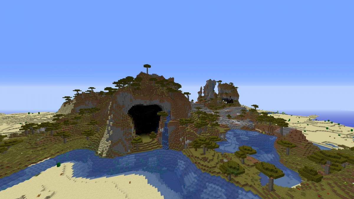 Seed Minecraft 1.15 climat chaud
