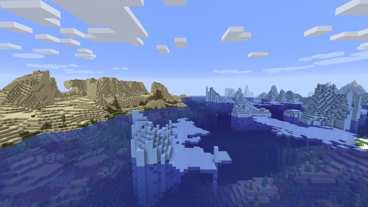 Seed Minecraft 1.15 feu et glace