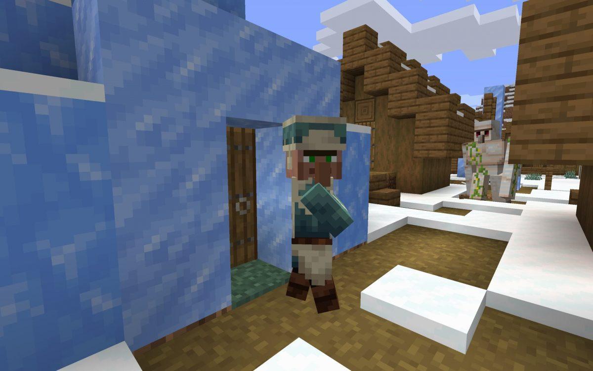 Seed Minecraft 1.15 igloo neige