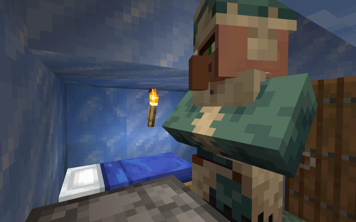Seed Minecraft 1.15 igloo neige villageois