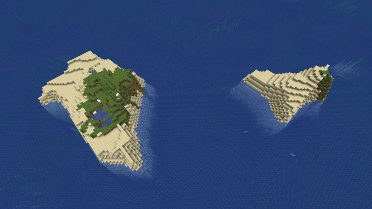 Seed Minecraft 1.15 archipels iles