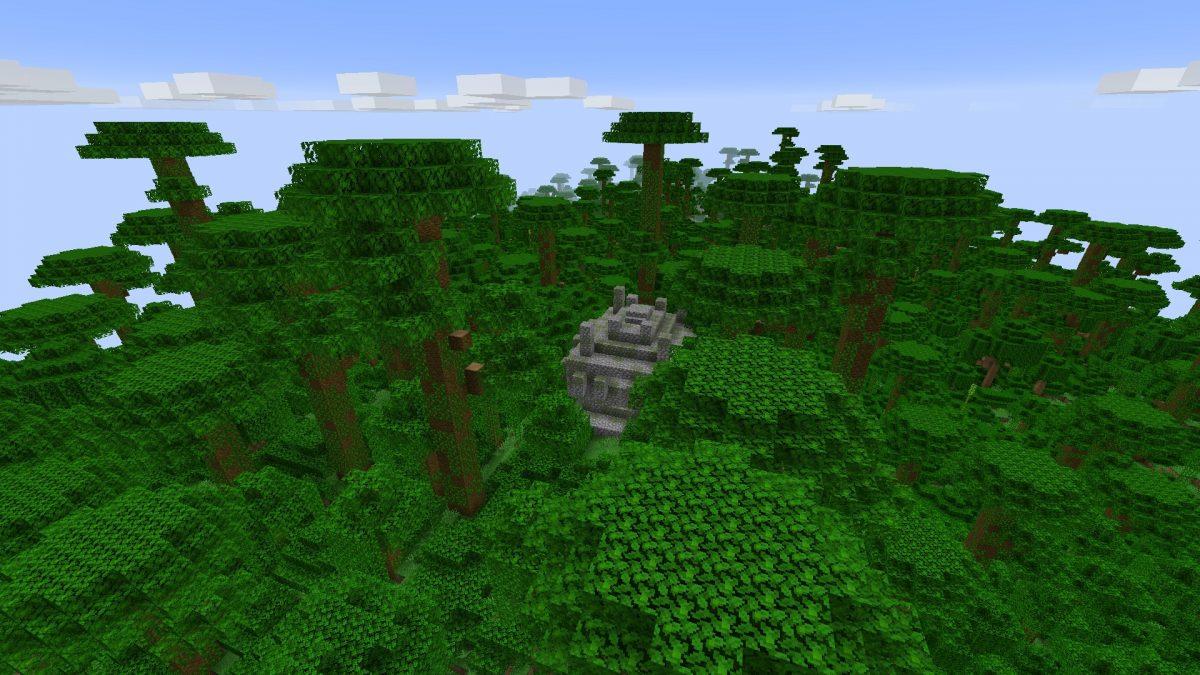 Seed Minecraft 1.15 jungle