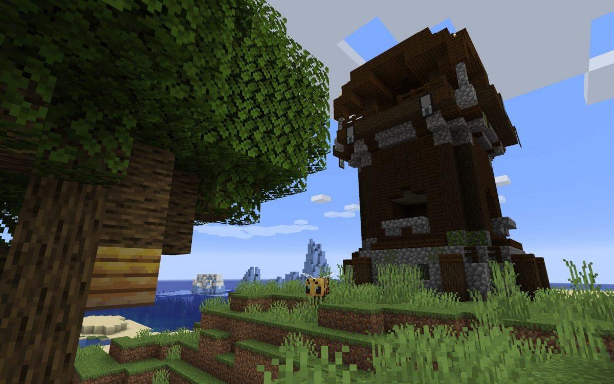 Seed Minecraft 1.15 nid abeille miel