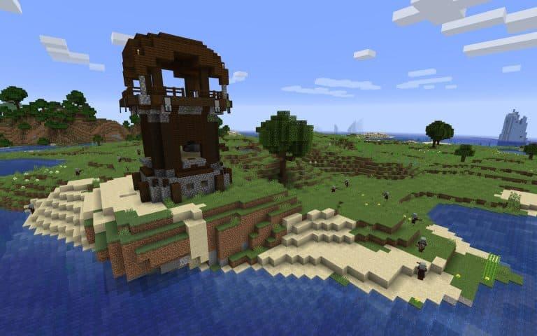 Seed Minecraft 1.15 pillards abeille poste