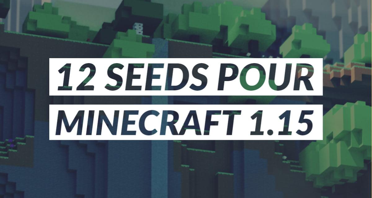 Les 12 meilleurs seeds pour Minecraft 1.15
