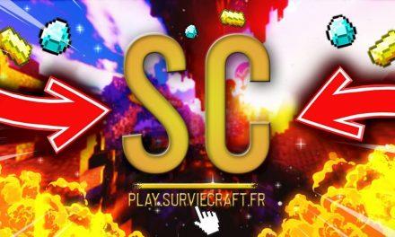 Surviecraft – Trailer Serveur Minecraft Survie 1.15