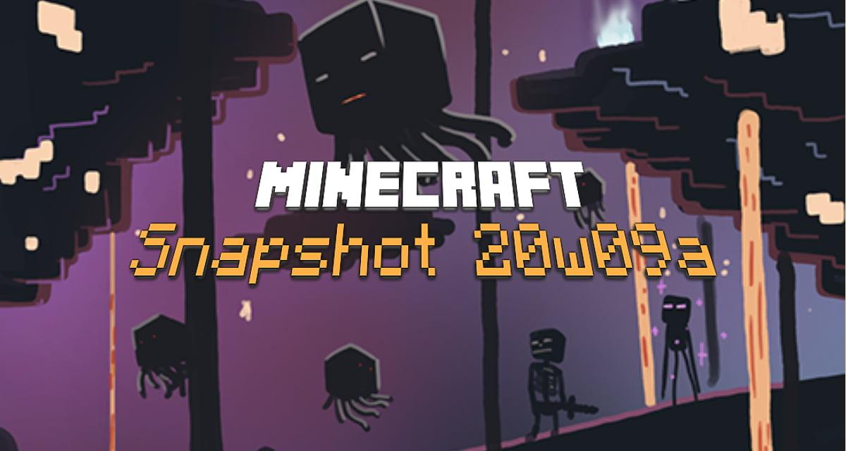 Snapshot 20w09a : Minecraft 1.16