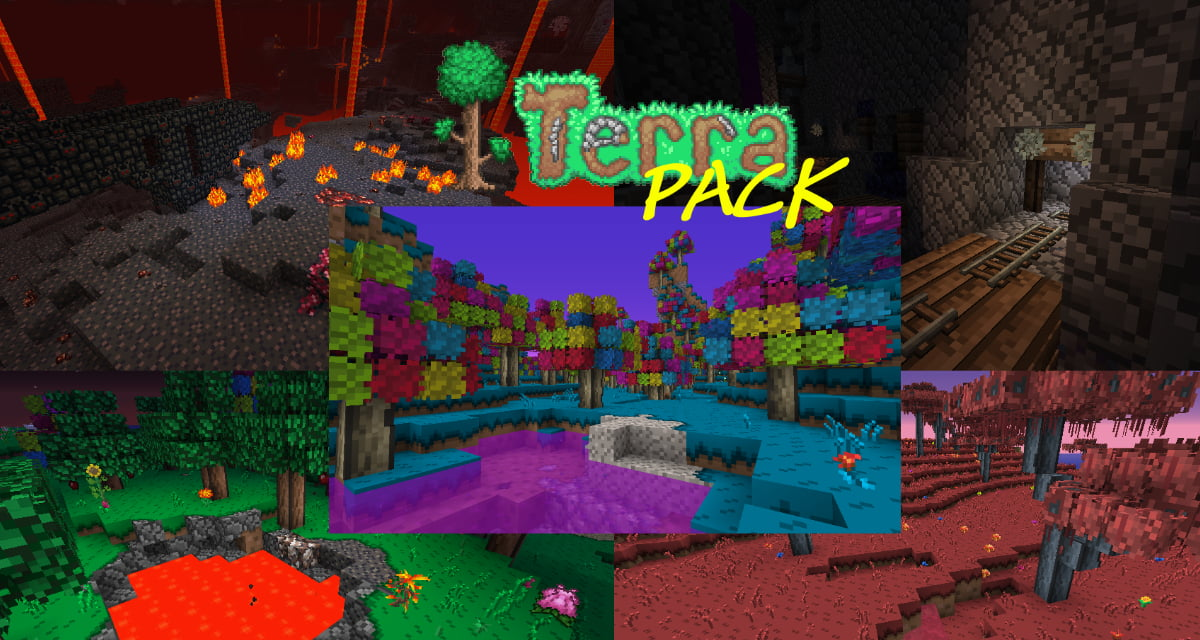 [Pack de Textures] Terrapack3D – 1.14 → 1.16