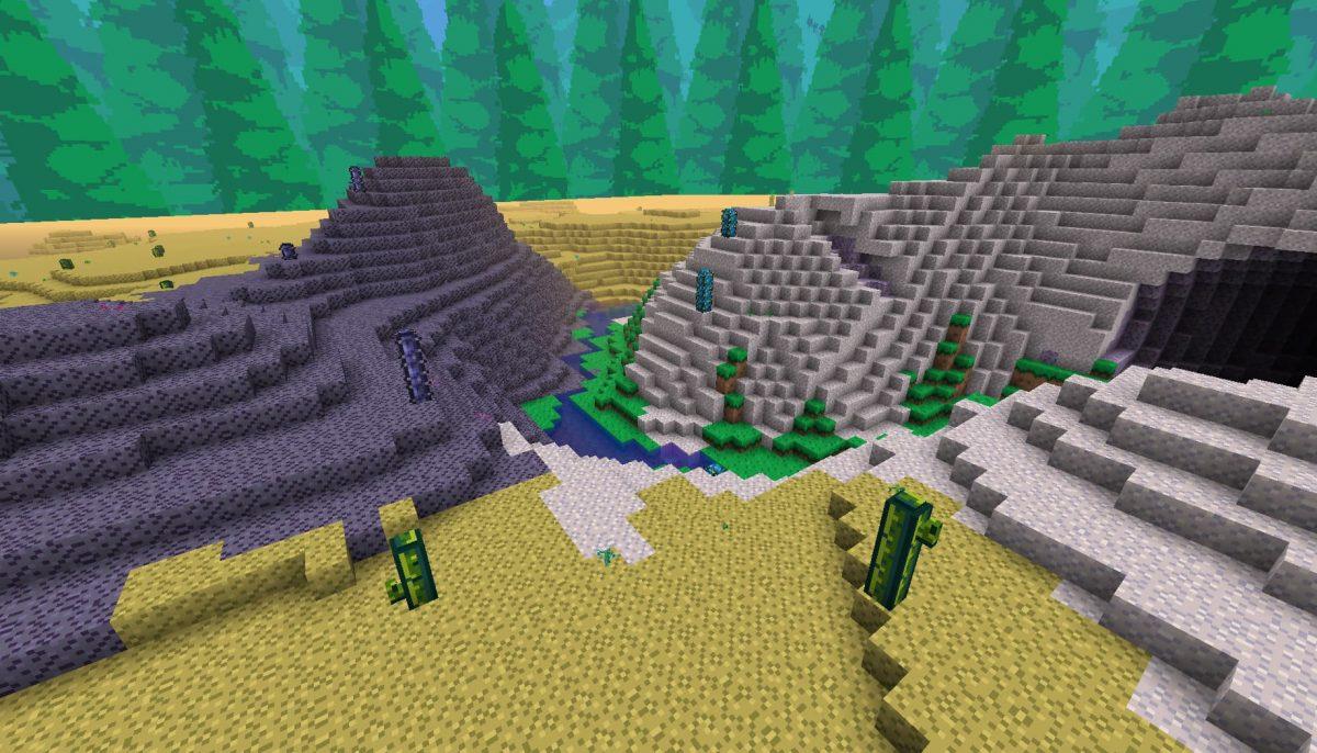 Terrapack3d Textures Minecraft X Terraria : dans le désert
