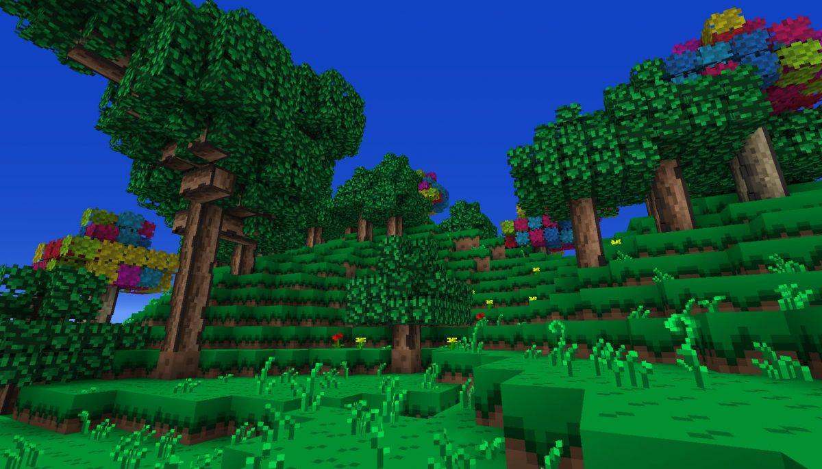 Terrapack3d Textures Minecraft X Terraria : des arbres
