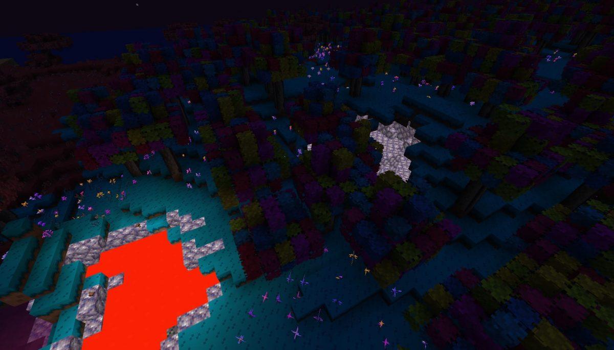 Terrapack3d Textures Minecraft X Terraria : de la lave la nuit