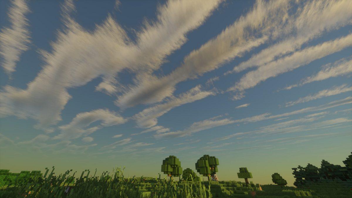 UShader : un aperçu des nuages dans le ciel