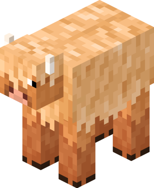 Wooly Cow Vache laineuse Minecraft Earth