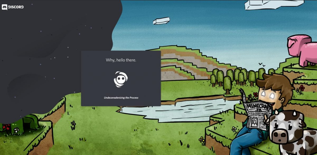 page accueil du discord de Minecraft.fr