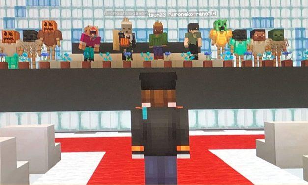 Des écoliers japonais surmontent le confinement lié au coronavirus avec une cérémonie de remise des diplômes dans Minecraft