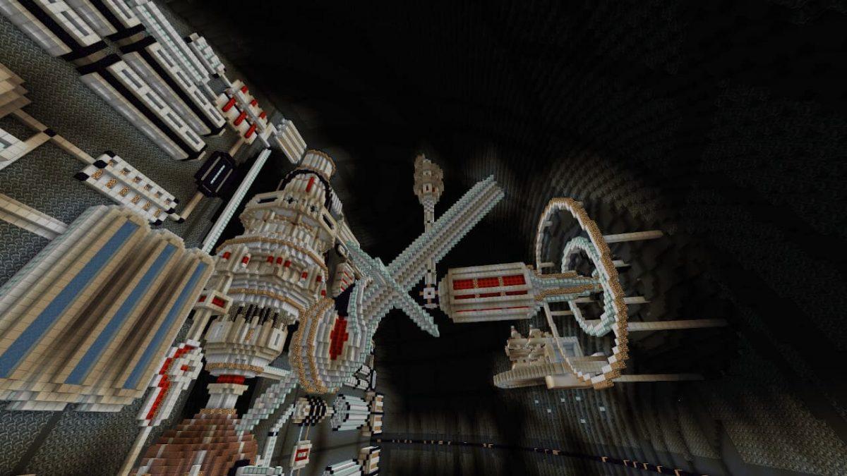 Map minecraft Etoile Noire : le système de fonctionnement