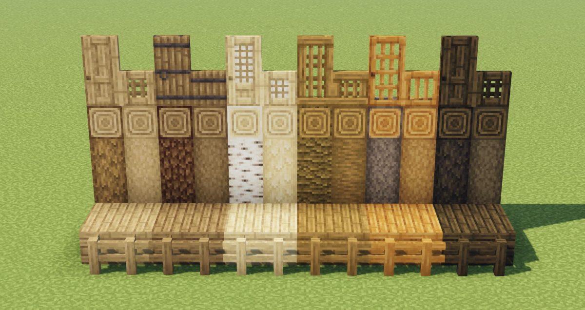 Jicklus : toutes les textures du bois