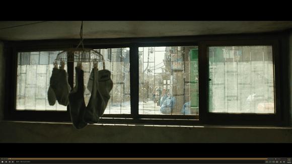 Map Minecraft film Parasite comparaison : fenêtre maison Ki IRL