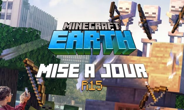 Minecraft Earth : Mise à jour R15