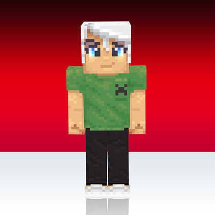 Skin Minecaft Uniqlo : creeper