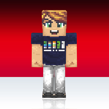 Skin Minecaft Uniqlo : personnages