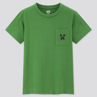 Tshirt Minecraft Uniqlo : creeper