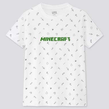 Tshirt Minecraft Uniqlo : logo