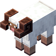 Mouton cornu : créature minecraft earth