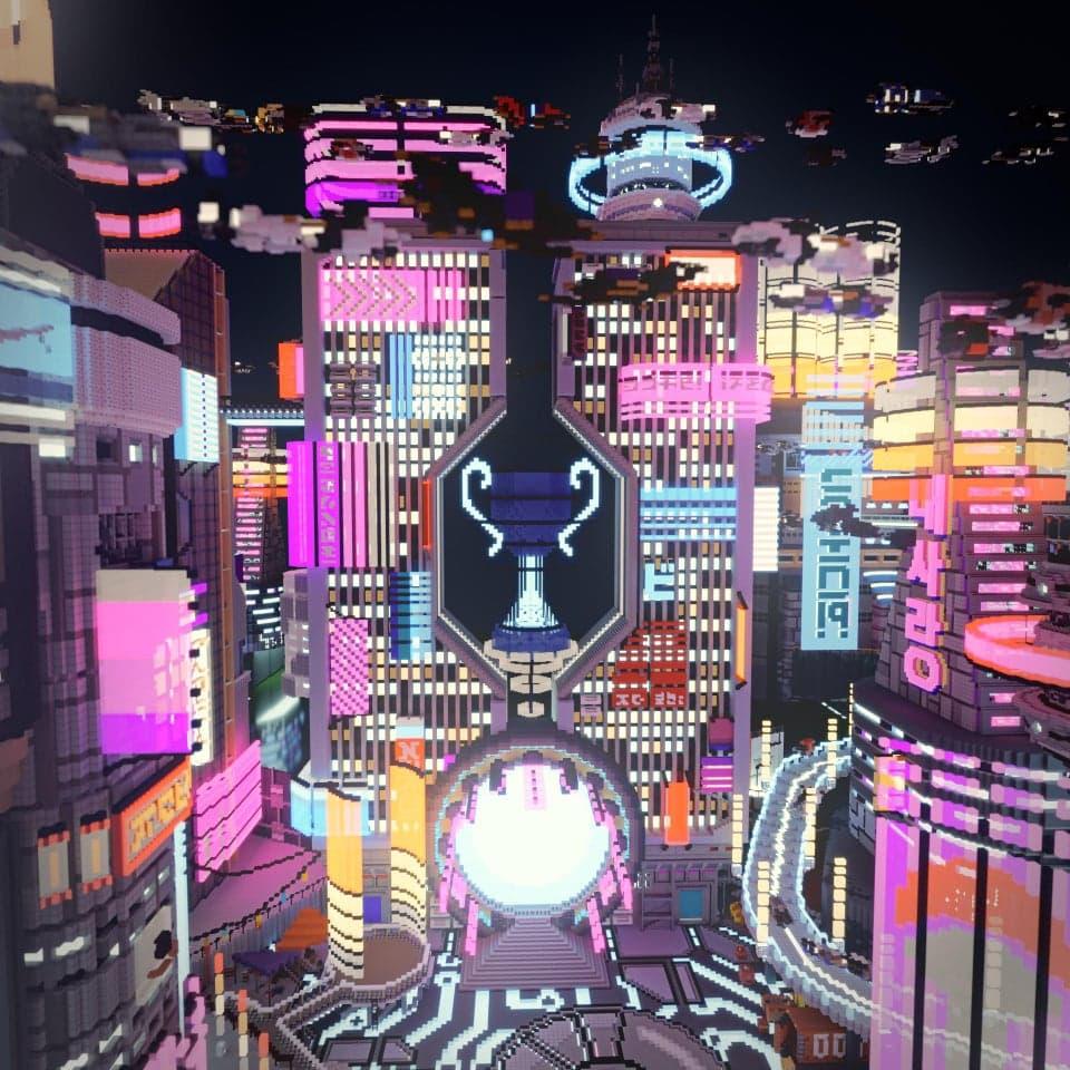 La ville de Neon City