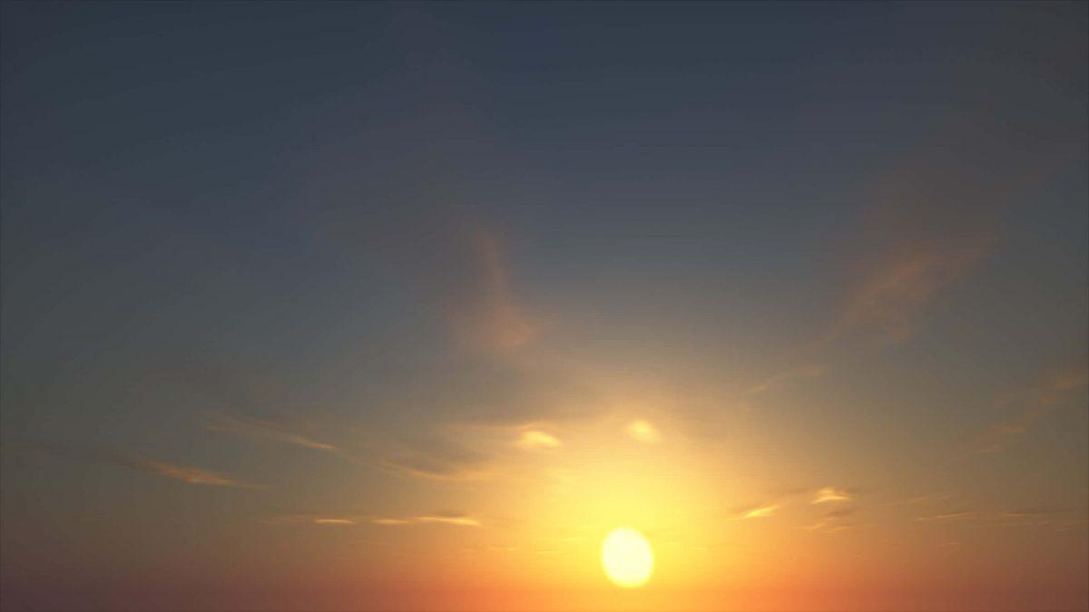 Seus Shader : le soleil dans le ciel