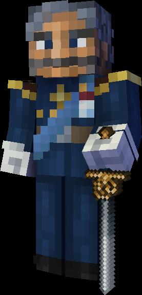 Skin minecraft Nathanaël II