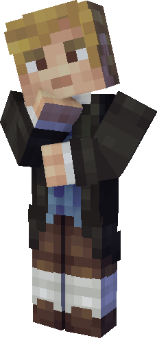 Skin minecraft Paul de La Fontaine