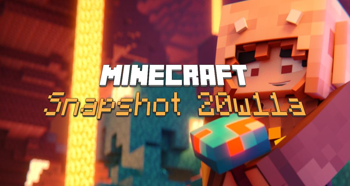 Snapshot 20w11a : Minecraft 1.16