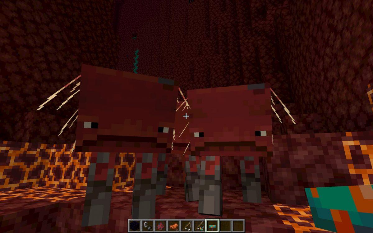 Nouvelle créature dans Minecraft : le STRIDER