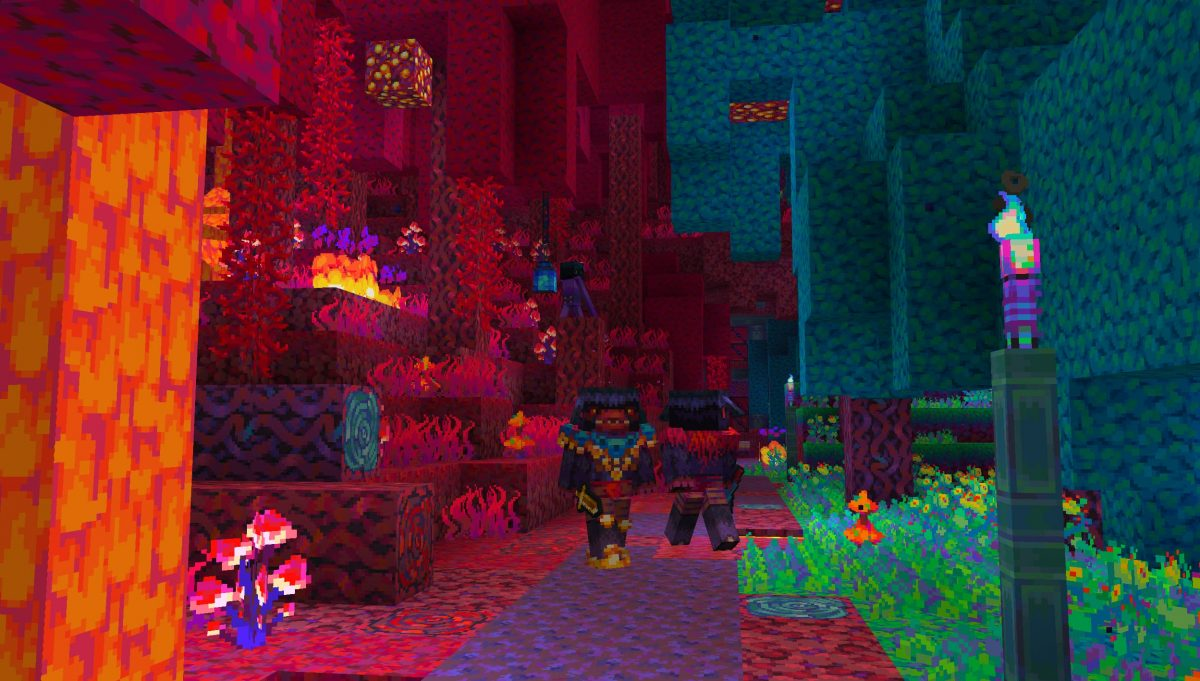Tales of Jobutara Kingdoms Pack de Texture Minecraft : le nether et des piglins