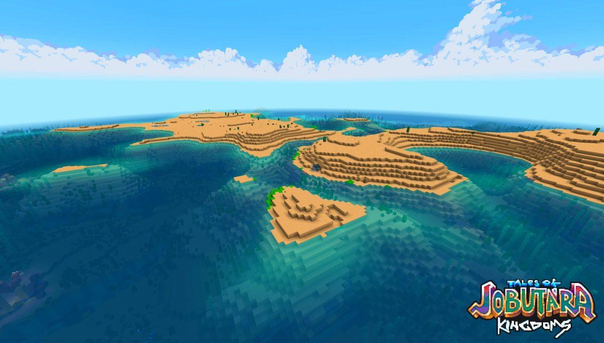 Tales of Jobutara Kingdoms Pack de Texture Minecraft : des îles dans l'océan