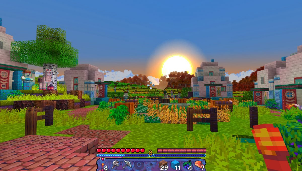 Tales of Jobutara Kingdoms Pack de Texture Minecraft : des plantations dans un village