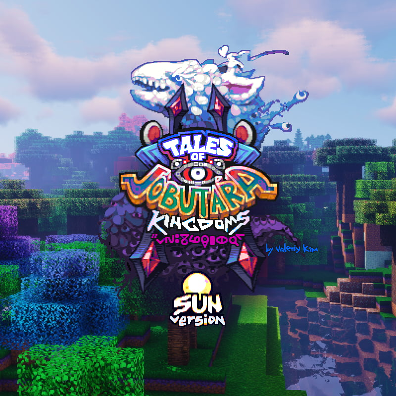 Tales of Jobutara Kingdoms Pack de Texture Minecraft : le logo officiel de la version SUN