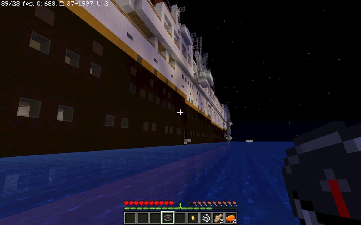 Titanic Survival 2 : la vue d'en bas