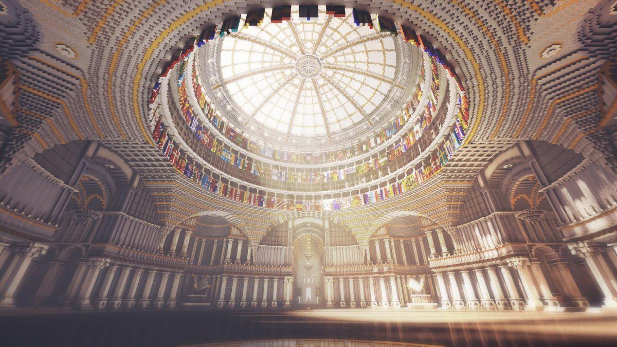 Uncensored Librairy : le dôme de la bibliothèque