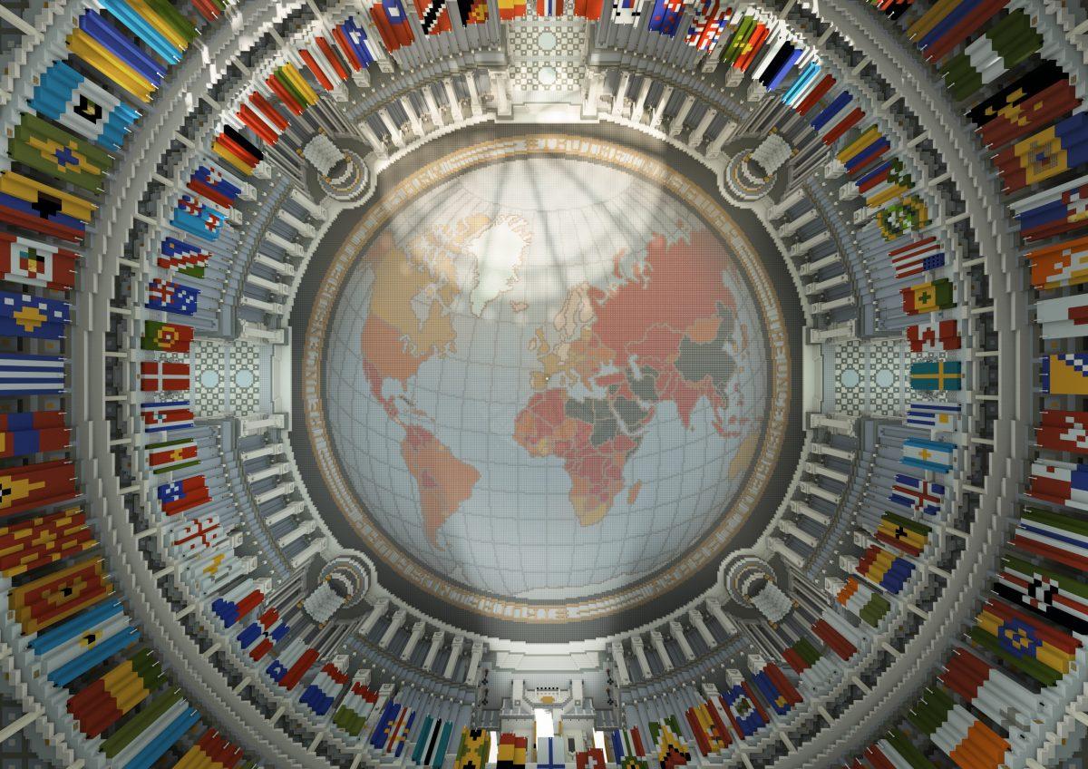 Uncensored Librairy : l'index avec le drapeau de tous les pays