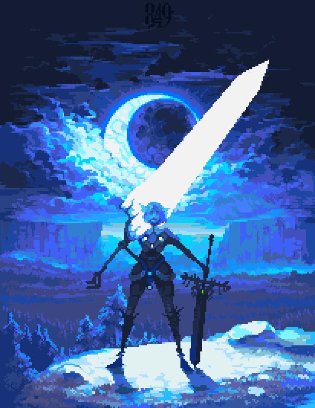 Pixel Art par Valerii Kim : Ares