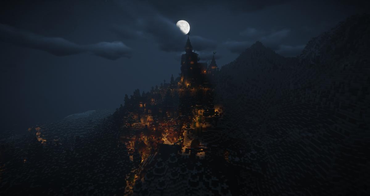 Ville de Kerak : issue d'un projet joueurs sur le serveur minecraft nefald