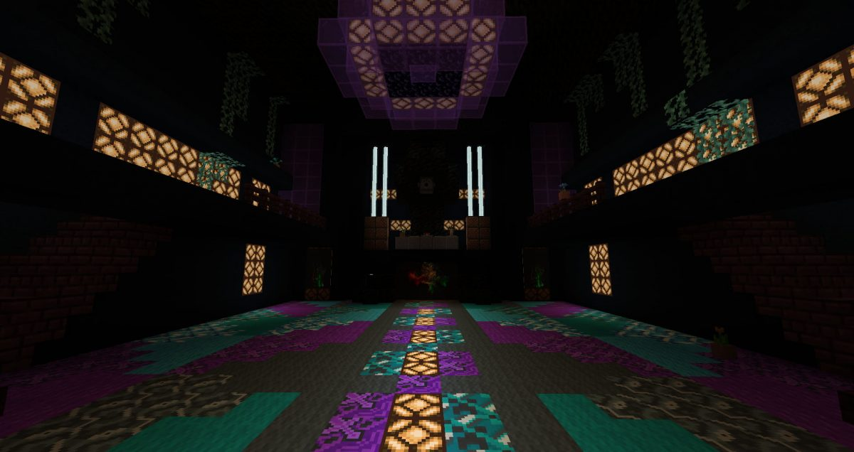 Burning Blocks Festival : Scène dragon lair