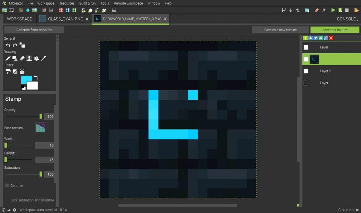 Comment créer mod minecraft : textures préfabriquée