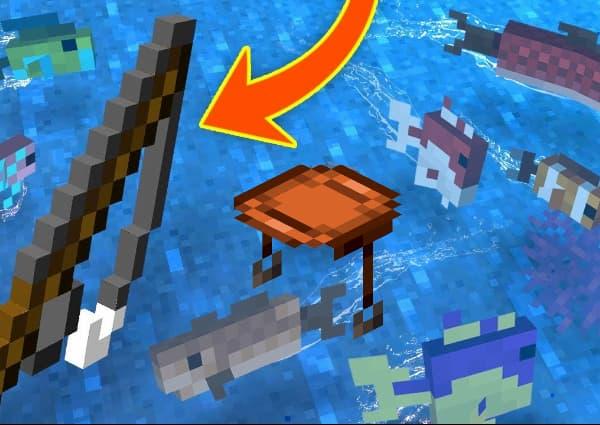 Comment faire une selle dans Minecraft en pêchant